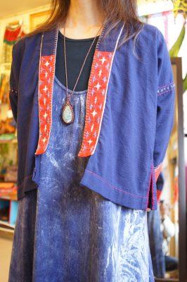 インディゴ民族ジャケット
