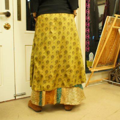 インドサリーラップスカート